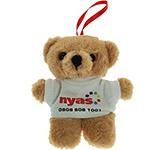 10cm Tiny Honey Bear With T-Shirt