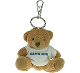 Tubby Bear Keyring With T-Shirt