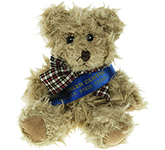 15cm Windsor Scruffy Bear With Sash