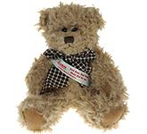 20cm Windsor Scruffy Bear With Sash