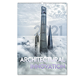 Architectural Innovation Wall Calendar