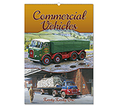 Commercial Vehicles Wall Calendar