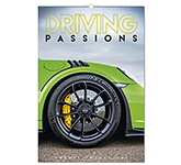 Driving Passions Wall Calendar