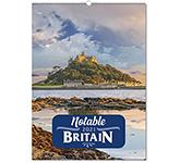 Notable Britain Wall Calendar