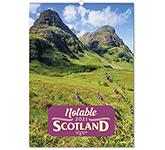 Notable Scotland Wall Calendar