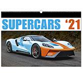 Supercars Wall Calendar