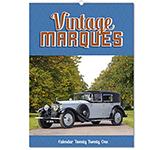 Vintage Marques Wall Calendar