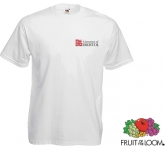 Fruit Of The Loom Value Weight T-Shirts - White