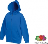 Fruit Of The Loom Kids Classic Zipped Hoodie