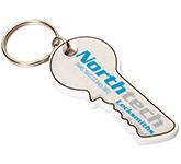 Key Shaped Eco-Friendly Plastic Keyring