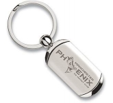 Rectangular Nitro Series Metal Keyring