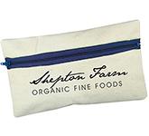 Branded Organic Canvas Pencil Case