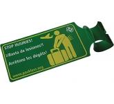 Laminated Luggage Tag