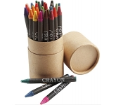 Colourburst 30 Piece Crayon Sets