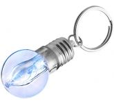 Flashing Bulb Keychain Light