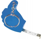 Thumbs Up Keyring Tape Measure