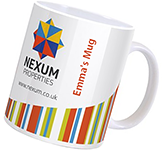Cambridge Mugs - Individual Names