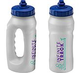 Marathon 500ml Jogger Sports Bottle Clear - Valve Cap