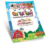 A5 Activity Colouring Book - Farm