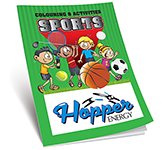 A5 Activity Colouring Book - Sports