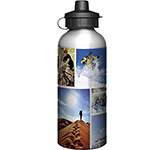 Super 600ml Aluminium Photo Sports Bottle