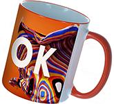 Rim & Handle Full Colour Photo Mug
