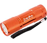 Flame Metal LED Flashlight