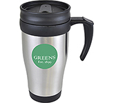 Nevada 400ml Stainless Steel Travel Mug