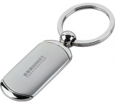 Dog Tag Metal Keyring