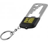 Casper 8 Function Multi Tool LED Keychain Light