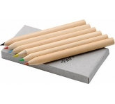 Arizona Mini 6 Piece Coloured Pencil Set