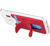 Delta Silicone Smartphone Wallet With Stand