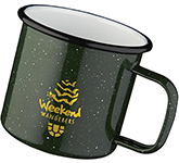 Campfire 475ml Enamel Speckled Mug