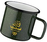 Campfire 475ml Enamel Speckled Mug