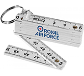 Detroit 0.5m Foldable Keyring Ruler