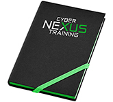A6 Neon Edge Printed Notebook