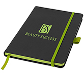 A5 Branded Colour Sharp Notebook