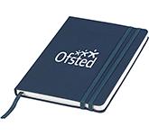Aspire Denim A5 Hard Cover Notebook
