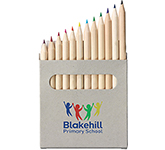 Wellington 12 Piece Mini Colouring Pencil Sets