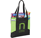 Daytona Coloured Panel Non-Woven Tote