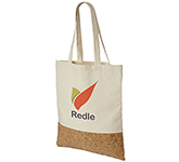 Branded Dunstable Cotton and Cork Tote