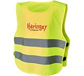 Rebel Safety Vest With Hook Loop For Kids Age 7-12