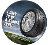 Round Tyre Brite Mat Coaster