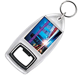 Printed Keyring Bottle Opener