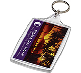 Goliath Rectangular Plastic Keyring