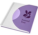 Curve A5 Notebook - White Wiro