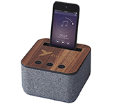 Buxton Fabric & Wood Bluetooth Speaker