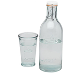 Jamie Oliver Ford 970ml Recycled Glass Water Carafe
