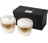 Milano 2-Piece Glass Coffee Set