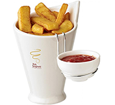 Paris Fries & Sauce Holder